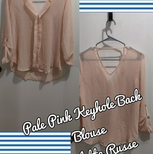 Pale Pink Blouse